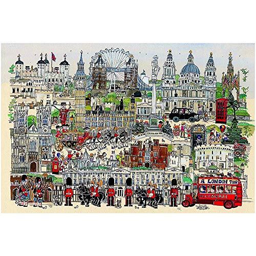 Adoff Londours Puzzle de 1000 piezas para niños de toda la familia, juguetes para papeles.