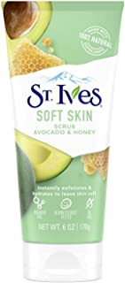 St Ives Scrub Avocado & Honey Soft Skin 6 Ounce (Pack of 6)