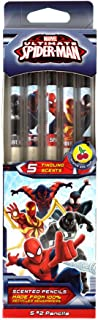 Scentco Marvel Spider-Man Smencils - HB #2 Scented Pencils, 5 Count