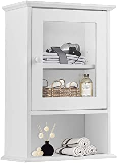 Best glass wall hanging cabinet Reviews