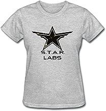 Guwmi Women's Star Labs Logo From DC Universe Online By Technognome T Shirt White XXL