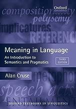Best an introduction to semantics Reviews