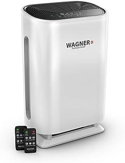 WAGNER Suiza purificador de aire WA888 HEPA-13 Filtro de grado médico, sensor de partículas para habitaciones de 500 pies ...