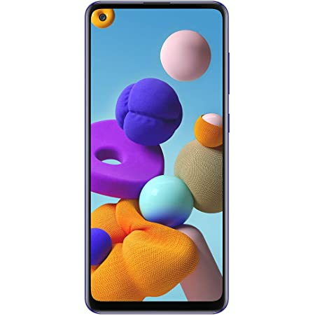 Samsung Galaxy A21s A217M 64GB Dual SIM GSM Unlocked Android Smartphone (International Variant/US Compatible LTE) - Blue