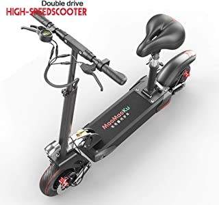 Lfnhai Scooter eléctrico para Adultos, Scooter Plegable de ...