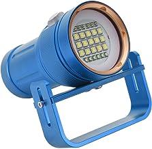 HENGtaoSM LED Zaklamp Outdoor Waterdichte Duiken Super Heldere LED Zaklamp 80 M Onderwater Vullen Ligh voor Zwemmen Wandel...