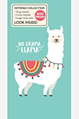 Book of Sticky Notes: Notepad Collection - No Drama Llama Hardcover