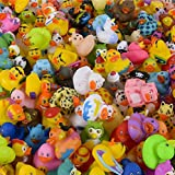 The Dreidel Company Assortment Rubber Duck Toy Duckies for Kids, Bath Birthday Gifts Baby Showers Classroom Incentives, Summer Beach and Pool Activity, 2' (25-Pack)