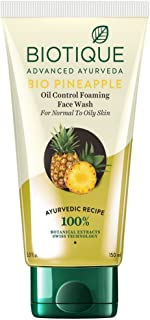 Biotique Bio Pineapple Oil Control Foaming Face Wash, 150ml