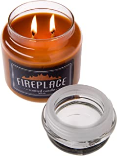 Best fireplace scented jar candle Reviews