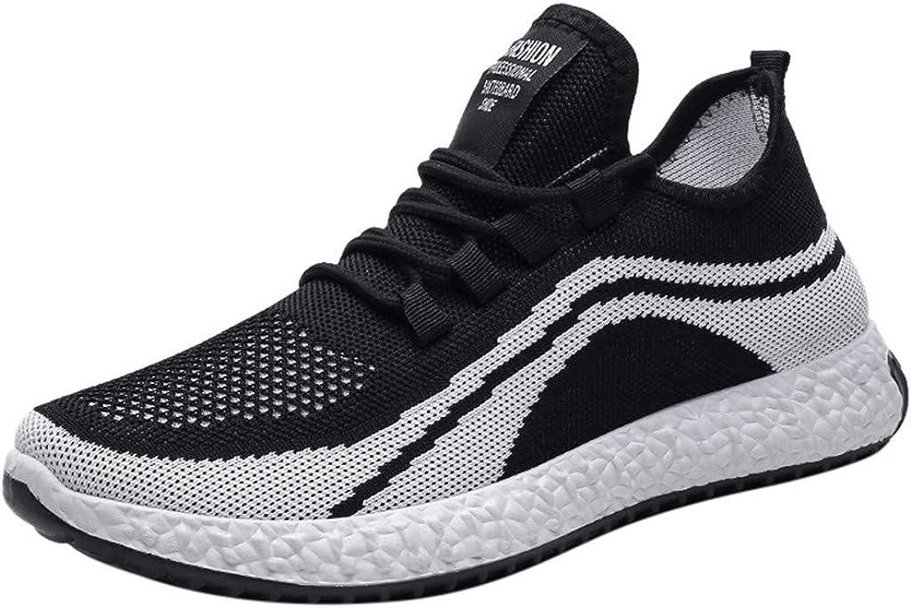 Ezeerae Mens Running Tennis Shoes Slip Bargain sale Walking On Light Sneakers Bargain