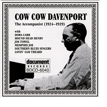 Cow Cow Davenport - The Accompanist (1924-1929)