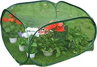 Sundale Outdoor Portable Gardening Green House Mini Lightweight Greenhouse with Polypropylene Mesh, Fireproof, Insect Prevention, 39.4