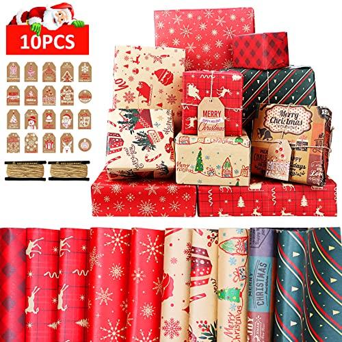 Etiquetas para Regalos de Navidad Marca