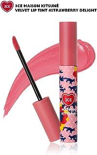 [3ce]メゾンキツネベルベットリップティント 海外直商品 Maison Kitsune Velvet Lip Tint (Strawberry Delight) [並行輸入品]