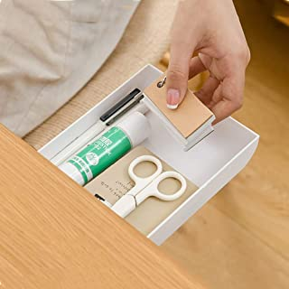 YJMZ Under Desk Drawer 2 Pack ,Desk Drawer Attachment,Under Desk Organizers And Storage ,Self-Stick Pop-Up Hanging Pencil ...