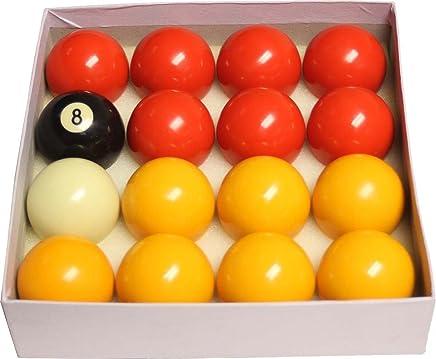Innen Tisch Spiel Pool & Billard League Bälle rot & gelb 1 7 20,3 cm oder 5,1 cm B01G6SVDY6  | Bestellungen Sind Willkommen