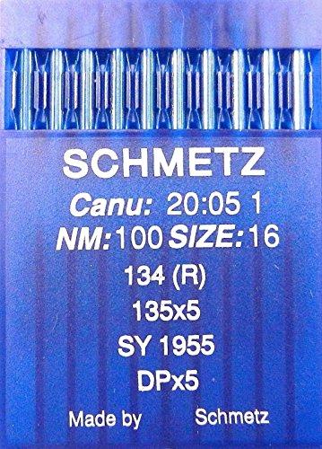 SCHMETZ - Agujas máquinas Coser 10 Unidades, Sistema