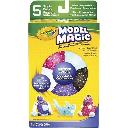 Crayola Model Magic, 5 Shimmer, 0.5, Gift for Kids, 5 oz, Assorted Color
