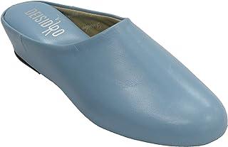 6864f69e Amazon.es: zapatillas casa mujer piel