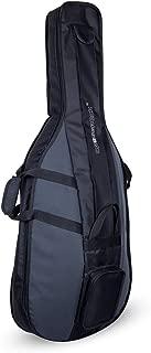 Crossrock Cello 4/4 Gig Bag Standard Series Black/Grey(CRSG106CEFBG)