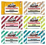 Fishermans Friend from Thailand many flavors Lozenges 25 g. (Variety Mix)