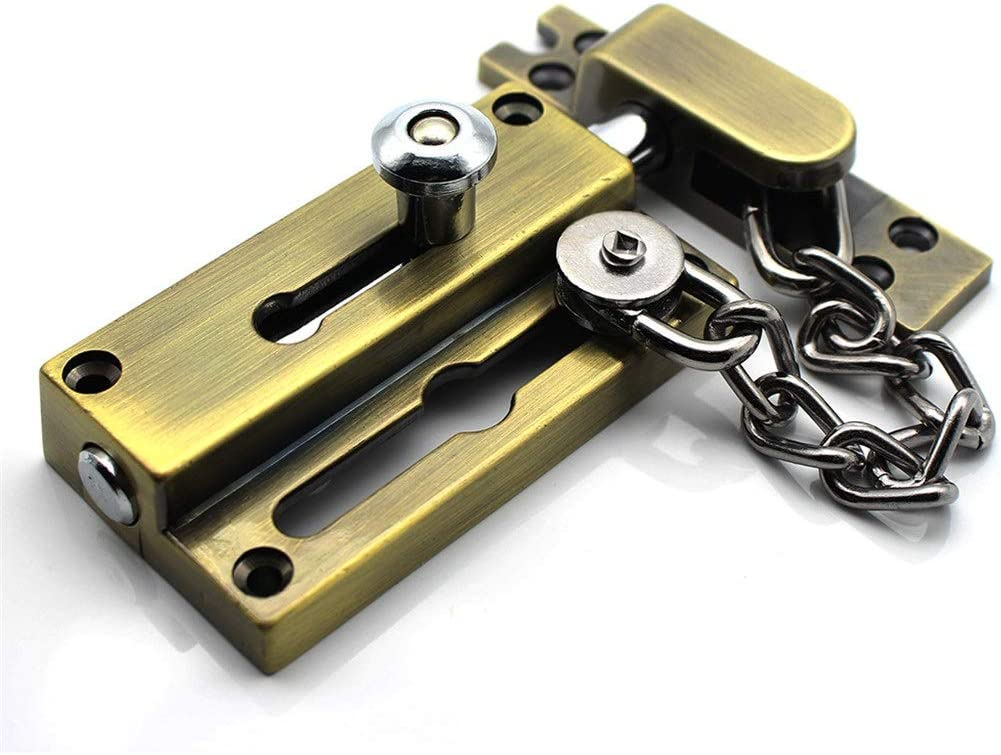 GANFANREN Security Heavy Manufacturer direct delivery thick Door Chain Bolts Over item handling with Anti-Theft