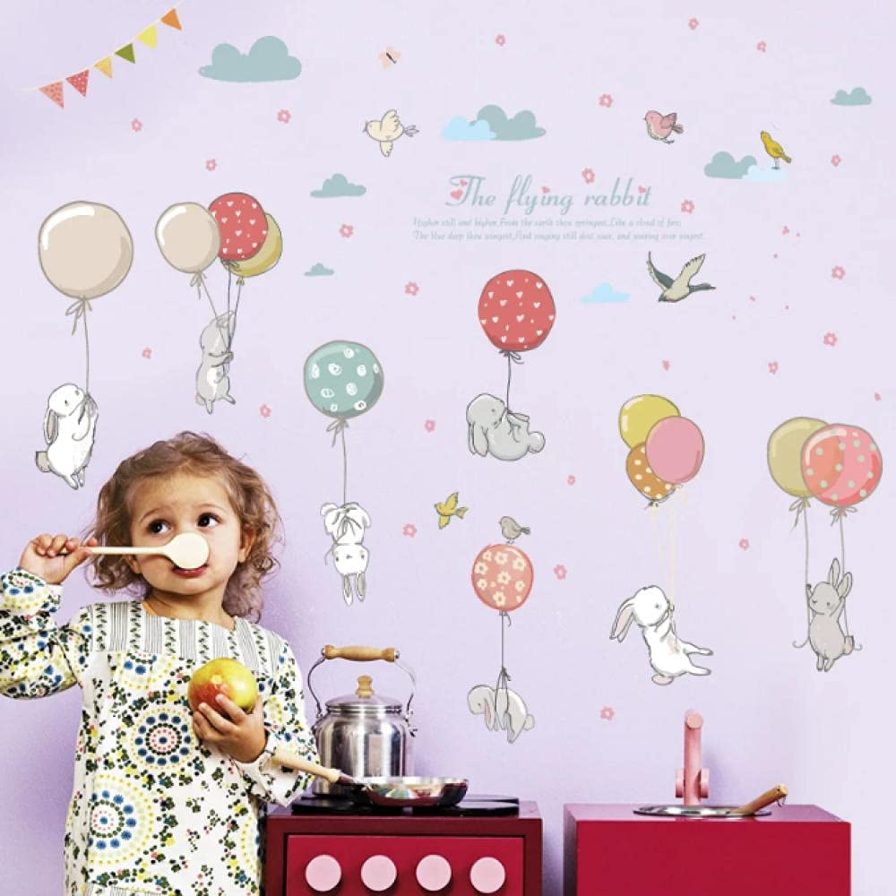 Lodykeyd Cute Ranking TOP18 Mail order cheap Rabbit Balloon Living Bedroom Nursery Room Kinderg