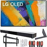 LG OLED65GXPUA 65' GX 4K OLED TV w/AI ThinQ (2020) with Stand and Soundbar Bundle