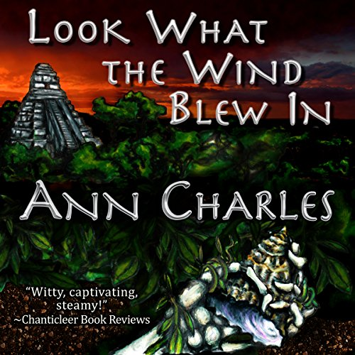 Look What the Wind Blew In audiobook cover art