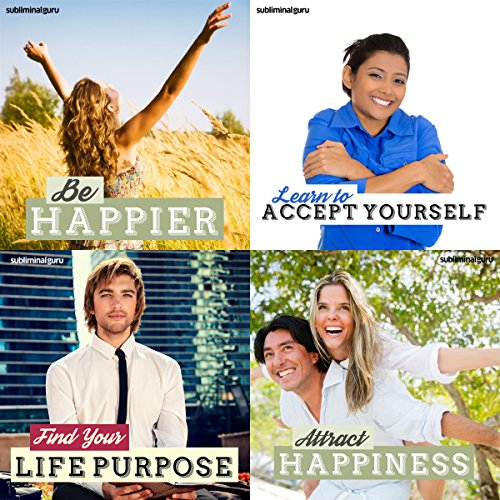 Lead a Happy Life Subliminal Messages Bundle     Fill Your Days with Happiness with Subliminal Messages               By:                                                                                                                                 Subliminal Guru                               Narrated by:                                                                                                                                 Subliminal Guru                      Length: 4 hrs and 40 mins     Not rated yet     Overall 0.0