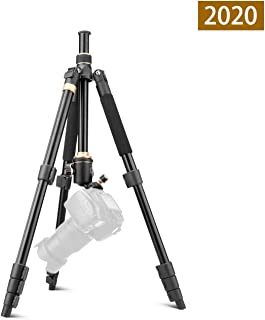 LLluckyHW Camera Tripod Action Camera Selfie Stick Video Tripod System Tripod Bag Carrying Bag for Travel Plate and Ball Head Included Overhead Tripod Color : Aluminum