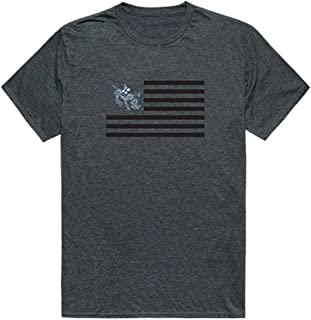 W Republic Colorado School of Mines NCAA Men's t Shirt American Flag Tees