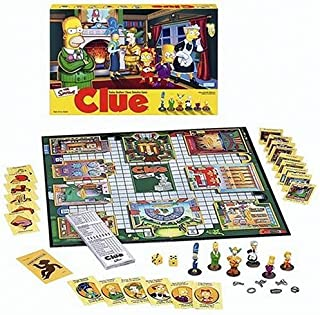Simpsons Clue Detective Game