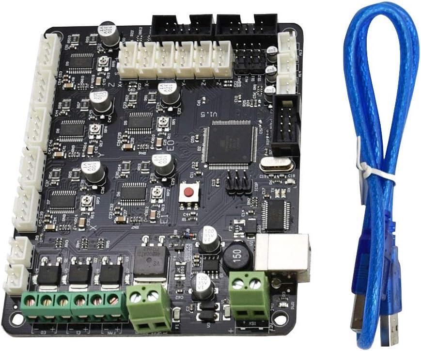 Iplusmile DC 12-24V MKS Base 1.5 Panel de Control Mega2560 Pieza de Impresora 3D para RAMPS 1.4
