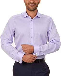 Calvin Klein Mens Cotton Non-Iron Button-Down Shirt