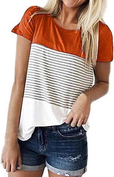 Camisetas Mujer Verano Xinantime Camisetas Mujer Manga Corta ...