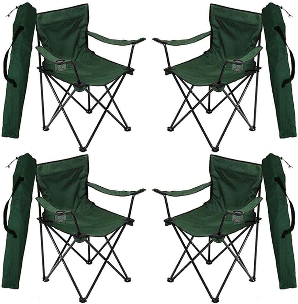 FFYY Camping Over item handling Chair Portable Fo 4 Max 87% OFF pcs