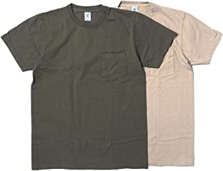 (ベルバシーン) Velva Sheen 2PAC CREWNECK TEE W/PK MILITARY PACK 別注2枚組パックTシャツ
