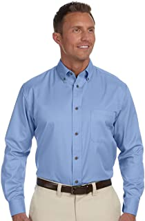 8fc99376edc Men s Easy Blend™ Long-Sleeve Twill Shirt with Stain-Release