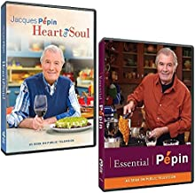 The Jacques Pépin DVD Collection: Complete Heart & Soul Series + Complete Essential Pepin Series (7 DVDs)