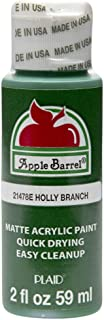 Apple Barrel Acrylic Paint in Assorted Colors (2 oz), 21478, Holly Branch
