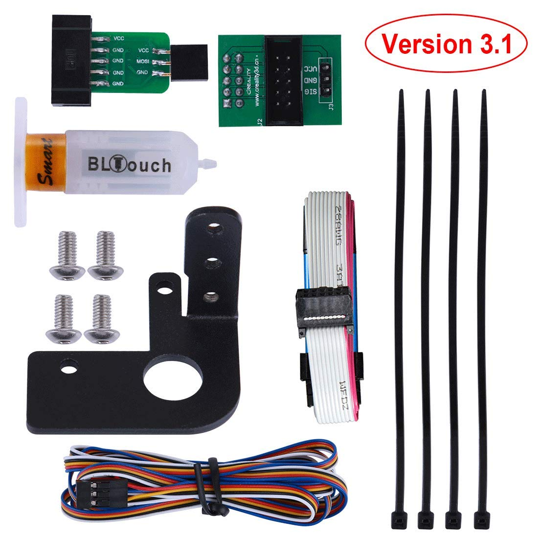 Auto Bed Leveling Sensor//To be a Premium 3D Printer ANTCLABS BLTouch With 1M Extension Cable Set