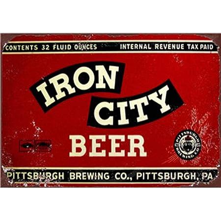 Retro Metal Signs Man Cave Pub Bar Vintage Wall Plaque Beer Garage Tin Sign Med/'