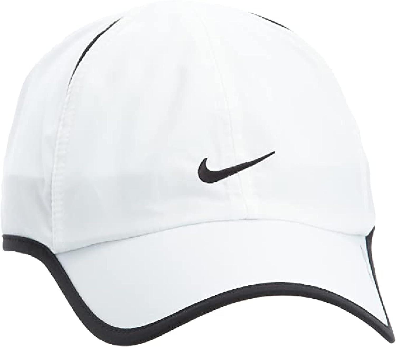 Nike Aerobill Featherlight Dri-Fit White Unisex Running Tennis Cap CI2662-100