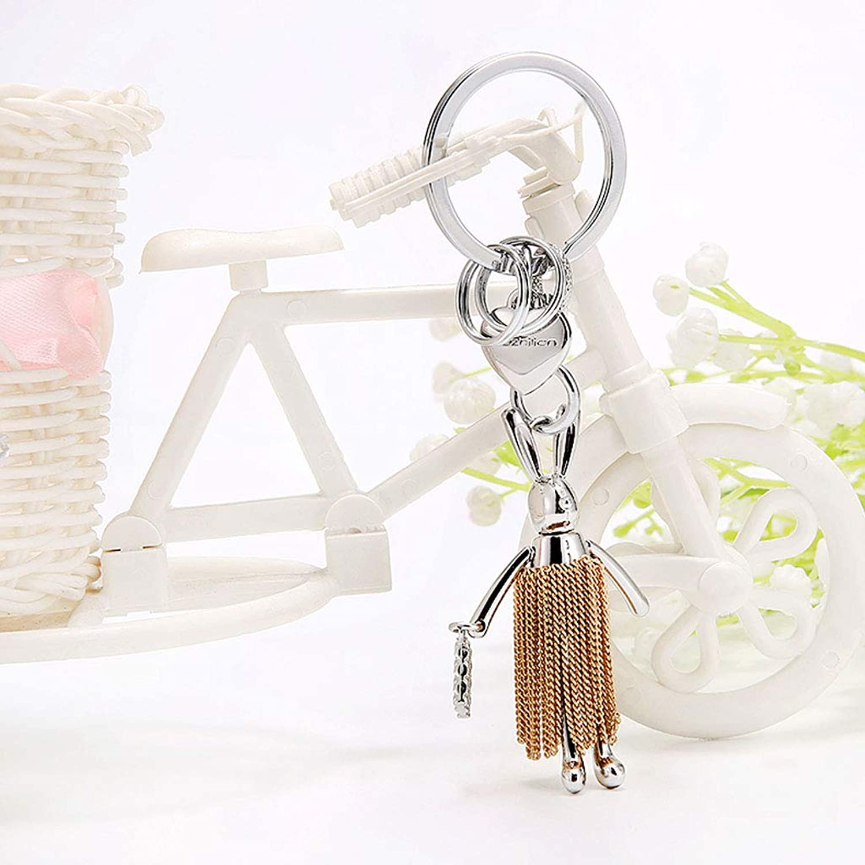 PLL Niedlichen Kaninchen Form Quaste Keychain Anhänger Anhänger Anhänger Kreative Auto Schlüsselanhänger Schlüsselanhänger Tasche Ornamente B07GL3BFJR b278de