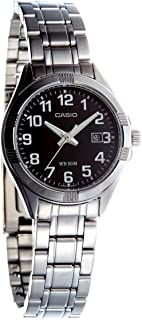 Casio for Women Analog LTP-1308D-1BVDF Stainless Steel Watch