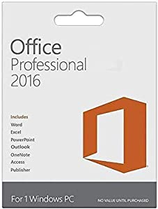 Home & Business Office Professional 2016 1 PC (Lifetime Version) - KeyCard