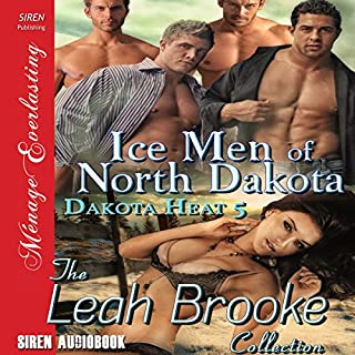 Ice Men of North Dakota audiobook cover art