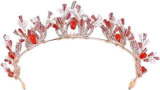 FELICILII Gioielli in Cristallo Copricapo Corona Principessa Compleanno Superiore Nuziale